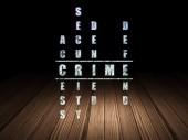 Bezpečnostní koncepce: slovo zločin v řešení křížovky
