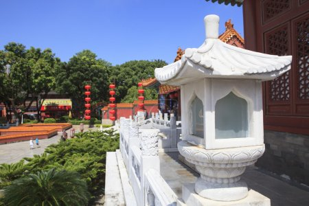 front view of Simulation of Old Summer Palace ,Gardens of Perfec
