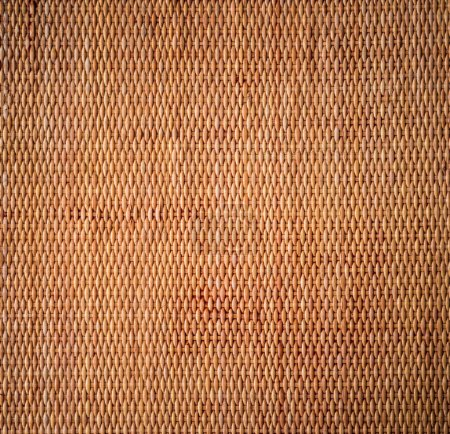 decorative background of brown handicraft weave texture wicker s