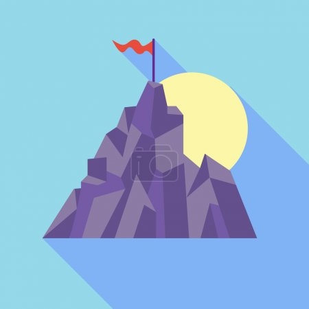 Mountain as sign of success
