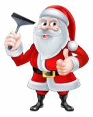 Window Cleaner Santa