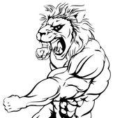 Tiger character punching