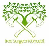 Tree Surgeon Axes and Tree Design