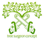 Tree Surgeon Cainsaws and Tree Design