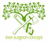Tree Surgeon Axe and Cainsaw Design