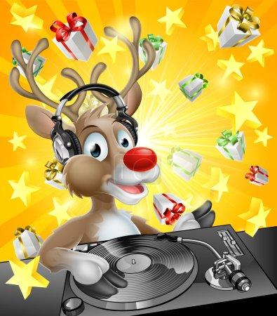 Christmas Reindeer DJ
