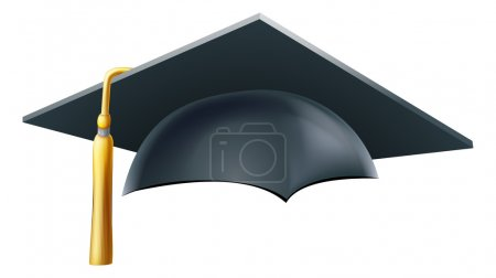 Graduation mortar board hat or cap