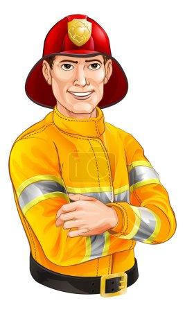 Fireman cartoon