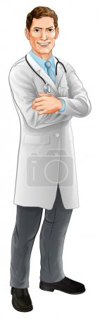 Doctor cartoon