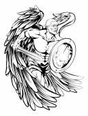 Warrior Angel Illustration