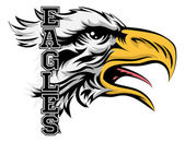 Eagles Mascot Illustration