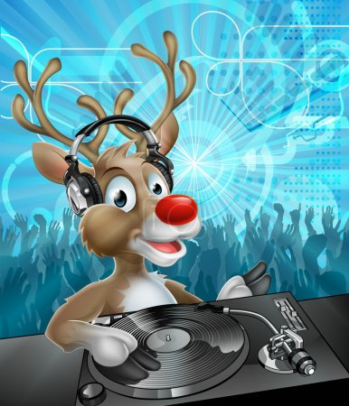 Christmas Reindeer Party DJ