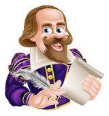 Cartoon Shakespeare concept