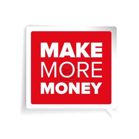 Make more money label