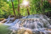 Level five of Waterfall in Kanchanaburi