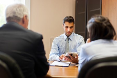 Photo for Business people at the meeting in office - Royalty Free Image