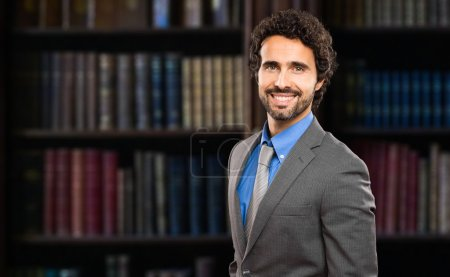 Photo for Confident handsome lawyer portrait - Royalty Free Image