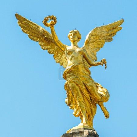 Photo pour Le Monument de l'Indépendance du Mexique, El Angel - image libre de droit