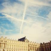 Chateau de Versailles and sky