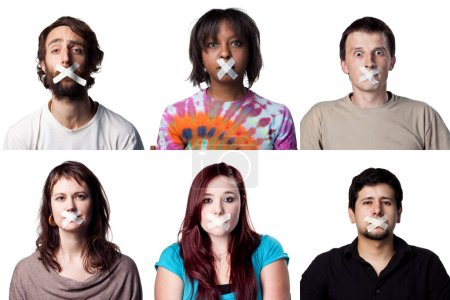 silenced young people