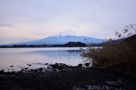 Mt. Fuji, one of the best view from Lake Kawaguchi, Japan
