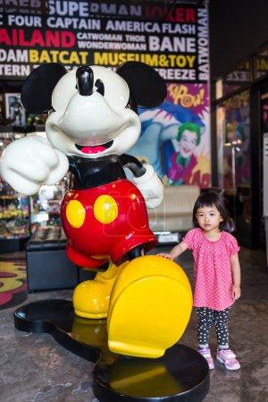 Bangkok, Thailand - Oct 24, 2015 Unidentified girl...