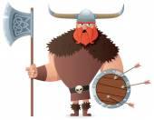 Viking on White
