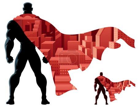 Superhero Abstract