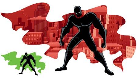 Superhero Abstract 2