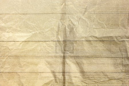 Abstract sepia crumpled paper background