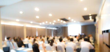 Foto de Resumen blur Conferencia de negocios y presentación - Imagen libre de derechos