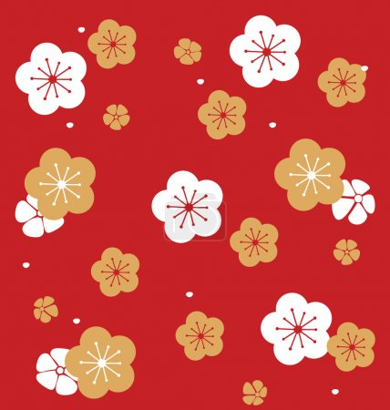 Illustration for Chinese New Year design. Vector Illustration. - Royalty Free Image