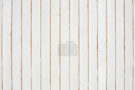 Photo for White, vertical wooden planks, peeled texture background - Royalty Free Image