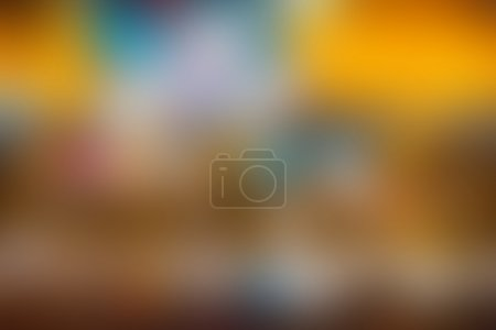 Abstract colorful blur background free form movement