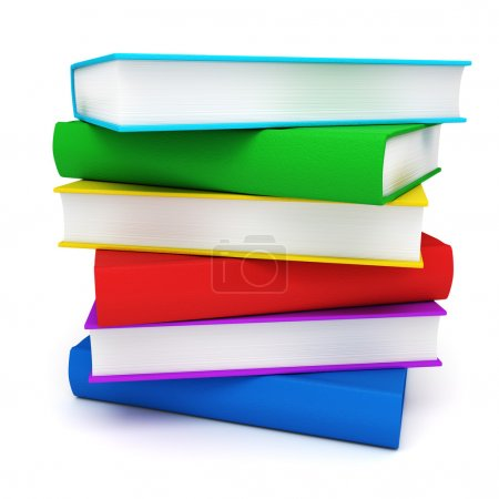 Photo for Stack of books - Royalty Free Image