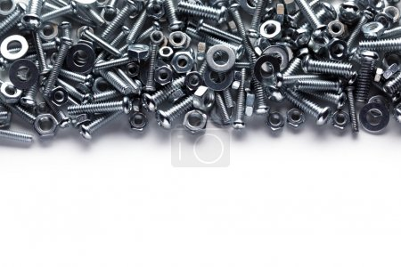 Photo for Nuts and bolts background - Royalty Free Image