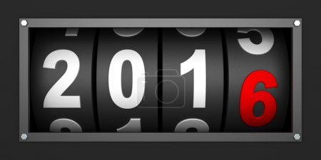 2016 New year countdown timer