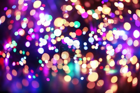 Photo for Bright colorful lights background - Royalty Free Image