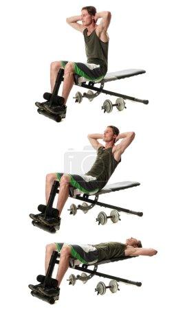 Bench Sit Ups