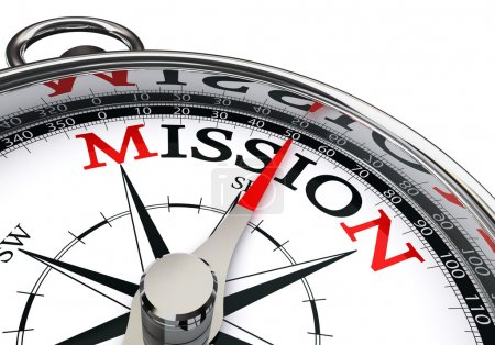 mission the way indicated by concept compass
