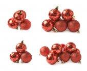 Hromadu decorational vánoční koule