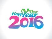 Abstraktní barevné novoroční text