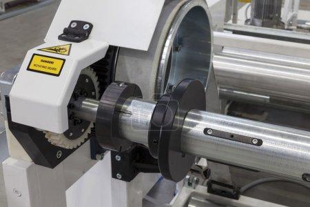 roll paper machine