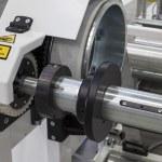 Cutting machine paper close up...