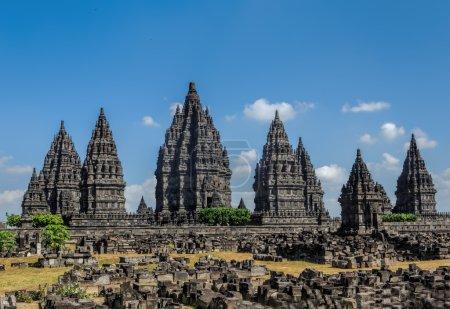 Photo pour Prambanan à Java, Indonésie - image libre de droit