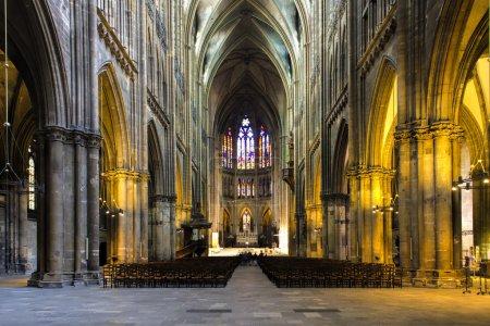Photo pour Cathédrale de Metz - image libre de droit