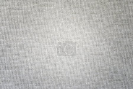 Photo for Light Linen texture background with delicate vignette - Royalty Free Image