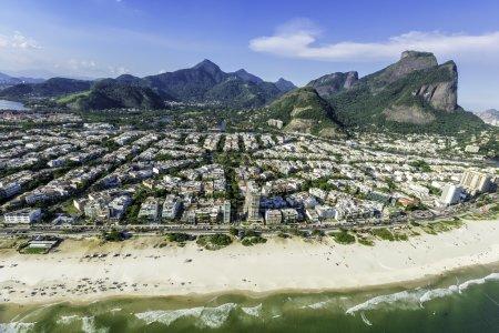 Rio De Janeiro's Barra Da Tijuca beachfront