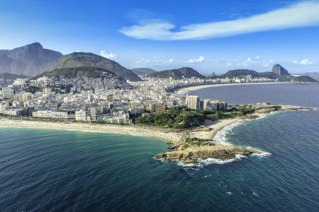 Copacabana and Ipanema Beach in Rio de Janeiro
