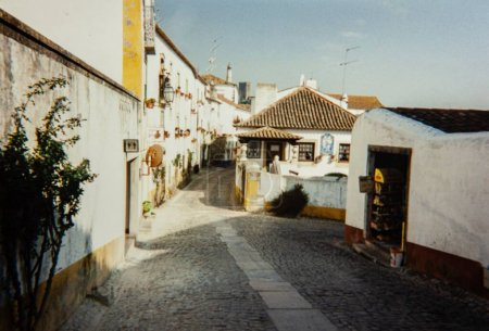Photo for LISBON, PORTUGAL MAY 1985: Characteristic portugal village - Royalty Free Image